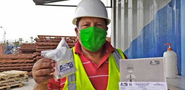 """ASP-B y transporte internacional activan campaña de salud """"Transporte Protege Bolivia"""""""